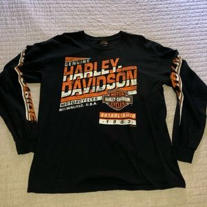 Harley-Davidson Men's Long Sleeve T-shirt
